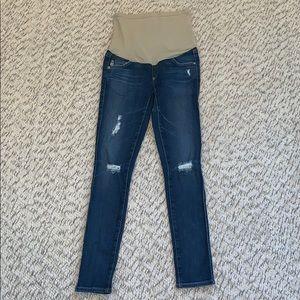 Adriano Goldschmied Dark Wash Skinny Jeans